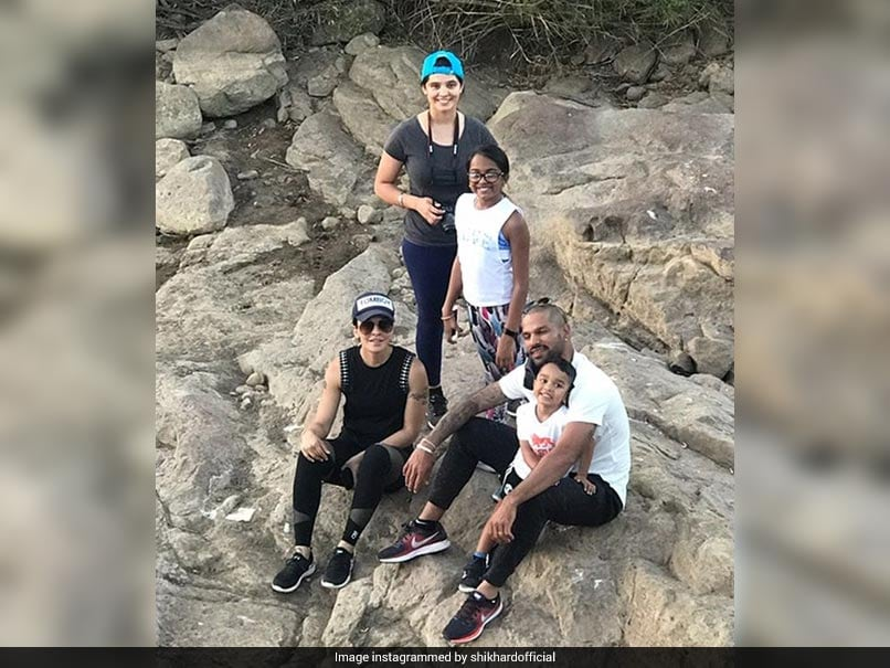 Shikhar Dhawan's Twitter Video Another Expression Of His Love For His Children