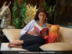 Amitabh Bachchan Turns Photographer With Daughter Shweta As His Muse