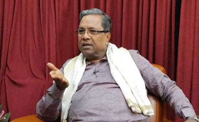 Karnataka Chief Minister Siddaramaiah Hits Back At PM Modi For 'Commission' Remark