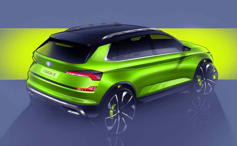 Skoda previews upcoming crossover ahead of Geneva Motor Show