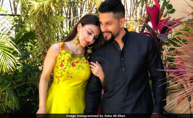 Ahead Of Valentine's Day, Soha Ali Khan Posts An Adorable Pic With Kunal Kemmu