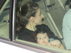 Soha Ali Khan And Daughter Inaaya's Day Out In Mumbai. Pics Here
