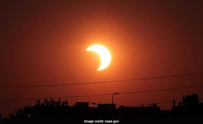Partial solar eclipse 2018