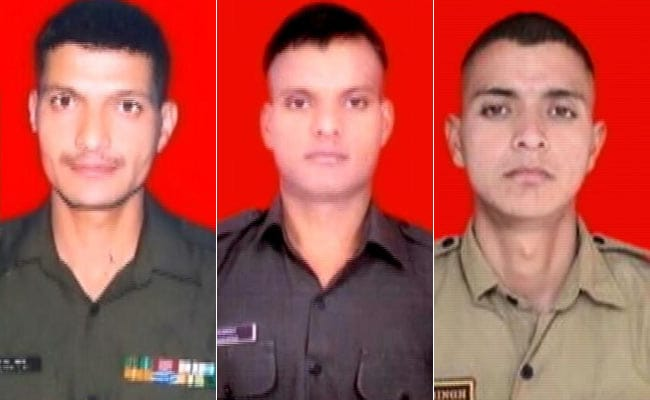 soldiers killed in rajouri