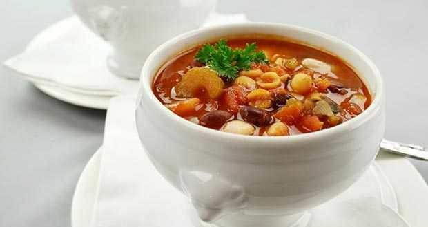 Kidney Beans and Pasta Soup