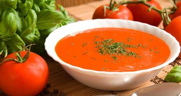 बैज़ल टमाटर सूप