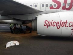 SpiceJet Flight Tyres Burst At Chennai Airport, Main Runway Closed