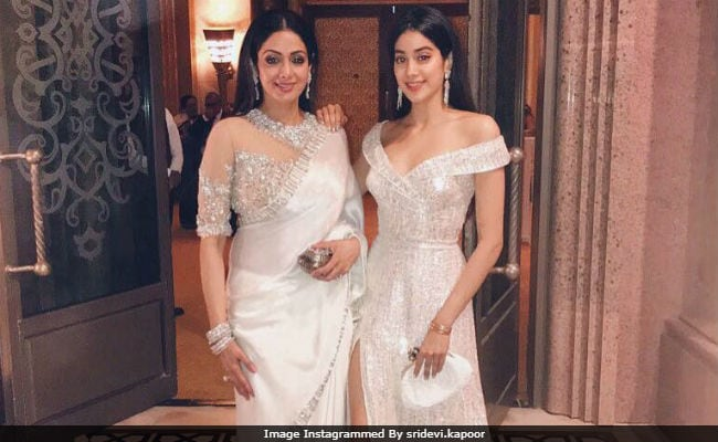 When Sridevi Got A Call From Juhi Chawla About Their Daughters' Names