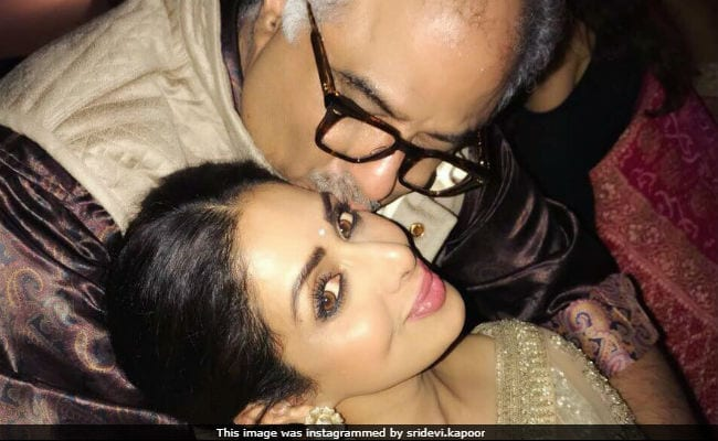 'Sridevi Was The World's Chandni. To Me, My Love,' Writes Boney Kapoor