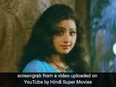 9 <i>Sarees</i> Sridevi Made Iconic, From <i>Chandni's</i> White Chiffon To <i>Mr India's</i> Blue