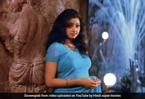 ed12e631d7 Sridevi, Always And Forever: 9 Iconic Sarees, From Chandni's White ...