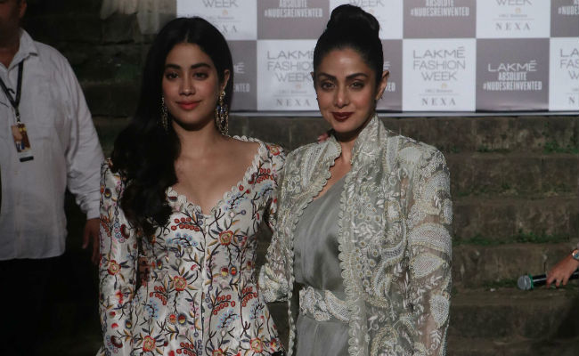 Lakme Fashion Week 2018: Sridevi And Janhvi Kapoor Added Stardust To Grand Finale