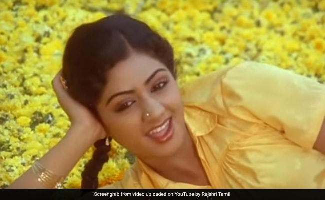 Sridevi Queen Of Southern Screens Before She Moved To Bollywood