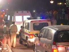 Chaos Outside Sridevi's Residence As Body Arrives In Mumbai