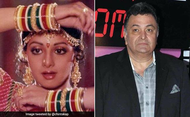Sridevi: श्रीदेवी के निधन की खबर मिलते ही ऋषि कपूर हुए आगबबूला, Twitter पर निकाला गुस्सा