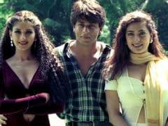 Shah Rukh Khan, Juhi Chawla And Sonali Bendre, In A Throwback Pic From <i>Duplicate</i> Sets