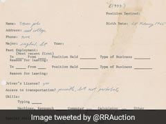 Steve Jobs' Error-Ridden CV Up For Auction, Set To Fetch $50,000
