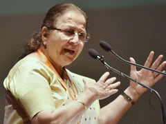 """Won't Fight, Party Free To Pick"": BJP's Sumitra Mahajan Is Done Waiting"