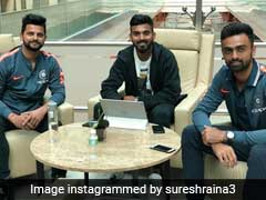 Suresh Raina Leaves For South Africa, Mohammad Amir And Jonty Rhodes Wish Him Luck