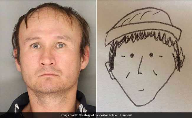 Amateur sketch helps police ID theft suspect