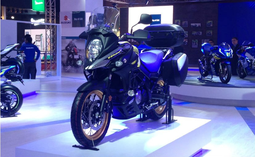 Auto Expo 2018 Suzuki V Strom 650 Unveiled To Be Launched In India