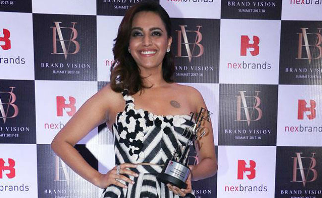 Swara Bhasker And The Apparently Unspeakable 'V-Word'