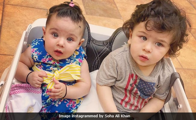 Cousins Taimur Ali Khan And Inaaya Carpool During Play Date. Such Adorable Pics