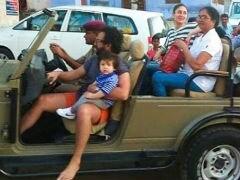 Taimur Takes A Jeep Ride With Parents Kareena Kapoor And Saif Ali Khan