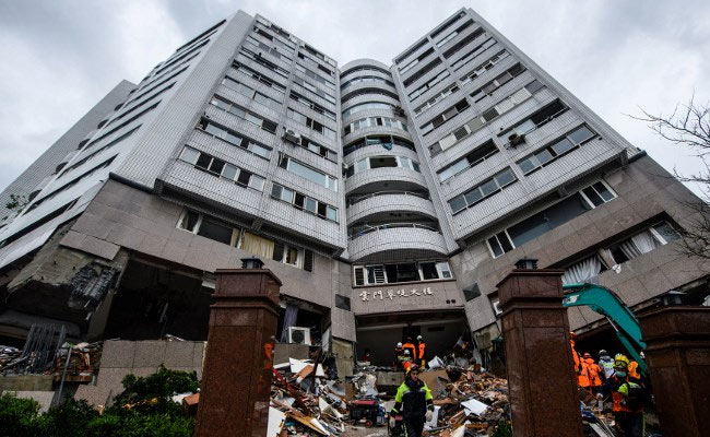taiwan earthquake afp