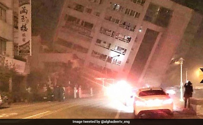2 Killed After 6.4-Magnitude Earthquake In Taiwan, Hotel Collapses