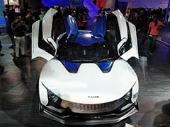 Auto Expo 2018: Tata Motors Showcases The RaceMo In An Electric Avtaar