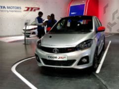 Auto Expo 2018: Tata Tiago JTP And Tigor JTP Editions Showcased