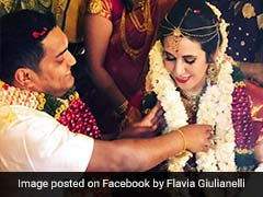 Indian Techie's Cute <i>Desi</i> Wedding With His Italian Girlfriend
