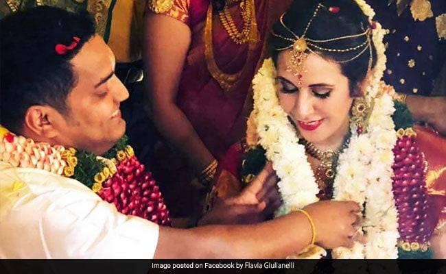Indian Techie's Cute Desi Wedding With His Italian Girlfriend