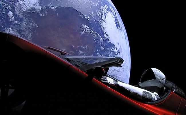 Elon Musk Sends Electric Car To Space Aboard World's Most Powerful Rocket
