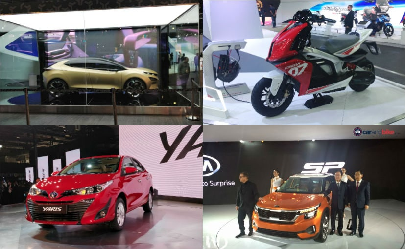 Top 5 Vehicles At The Auto Expo 2018