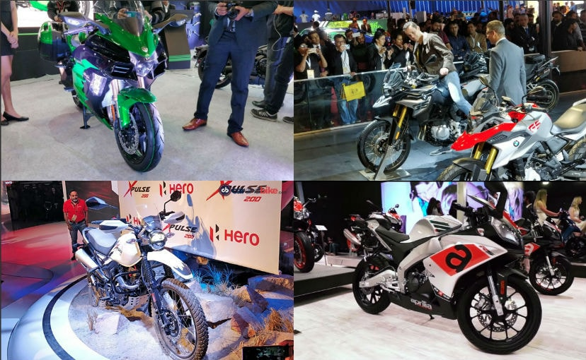 Top 5 Bikes At The 2018 Auto Expo