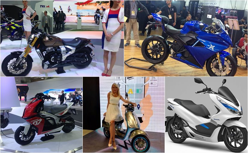 Here are the top 5 concept motorcycles and scooters we saw at the Auto Expo 2018