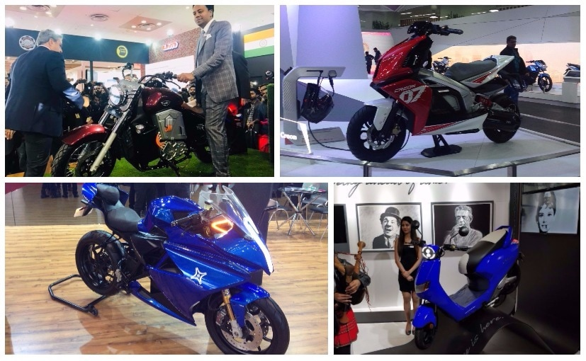 A look at the best electric two-wheelers from the Auto Expo 2018