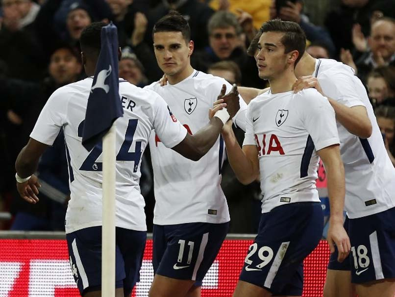 FA Cup Tottenham Hotspur End Newport County's Run At The Second Attempt