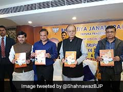 Tripura Elections: BJP Releases Vision Document, Promises Free Smartphones And SEZs