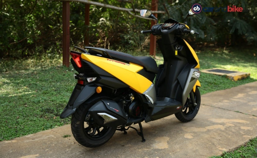 tvs ntorq 125 is the flagship scooter
