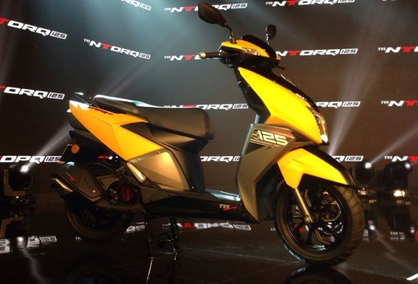 tvs ntorq 125 looks stylish sharp and bold