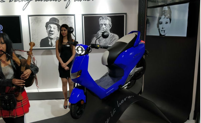 Twenty Two Motors Flow Electric Scooter Launched In India; Priced At ₹ 74,740