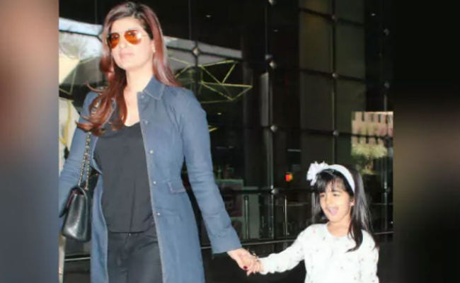 Twinkle Khanna's Daughter Nitara Is 'Just Like Her.' She Explains With A Pic