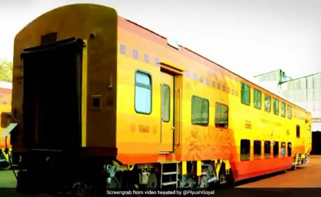 Railways' Double Decker Train UDAY Express To Run On Three Routes. Details Here