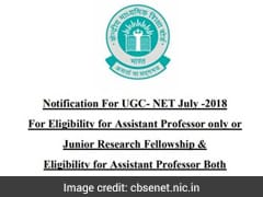 UGC NET July 2018 Notification Released; Application Process To Start From March 6