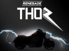 Auto Expo 2018: UM Motorcycles' New Electric Cruiser Will Be Called The Renegade Thor