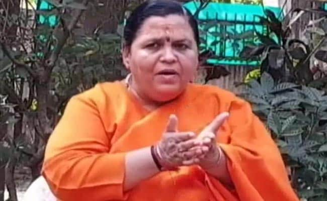 No Dissent, Says BJP As Uma Bharti Announces Election Sabbatical
