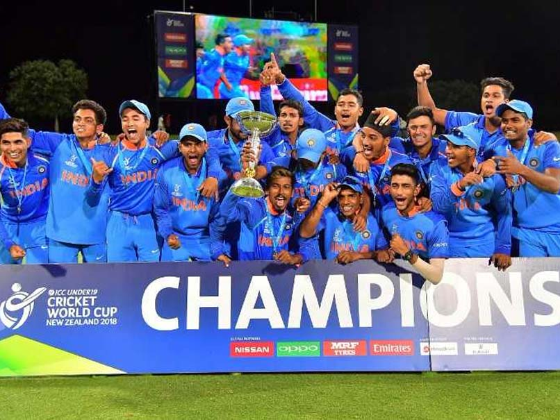 Watch: Virat Kohli, Team Hail Victorious Under-19 World Cup Winners